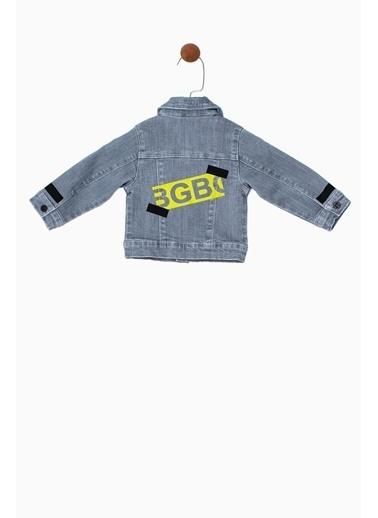 BG Baby Erkek Bebek Jean Ceket 19SS0BG1704 Mavi
